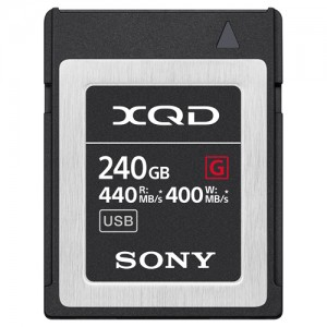Sony Professional XQD G-Series 240GB Memory Card
