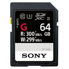 Sony SF-G Series UHS-II 64Gb SDXC Memory Card