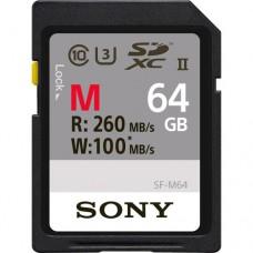 Sony 64GB UHS-II Class 10 SD Memory Card (SF-M64/T)