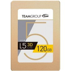 "Team Group L5 LITE 3D 2.5"" 120GB SATA III 3D NAND Internal Solid State Drive (SSD)"