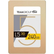 "Team Group L5 LITE 3D 2.5"" 240GB SATA III 3D NAND Internal Solid State Drive (SSD)"