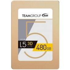 "Team Group L5 LITE 3D 2.5"" 480GB SATA III 3D NAND Internal Solid State Drive (SSD)"