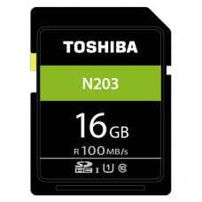 TOSHIBA EXCERIA™ N203 SDHC  UHS-I U1 C10 16GB