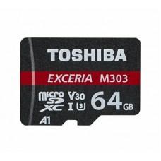 Toshiba Exceria M303 64GB MicroSDXC Class 10 Memory Card