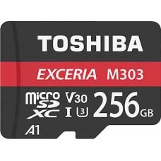 Toshiba Exceria M303 256GB MicroSDXC Class 10 Memory Card