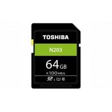 TOSHIBA EXCERIA™ N203 SDXC  UHS-I U1 C10 64GB
