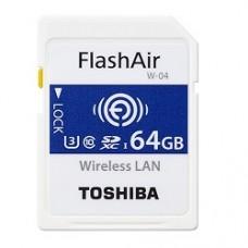 TOSHIBA FLASHAIR™ W-04 - 64 GB
