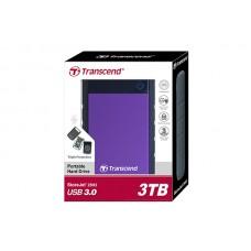 Transcend Storejet 25H3 Portable USB 3.0 Hard Disk  3TB