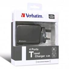 Verbatim 4 Ports Travel Charger