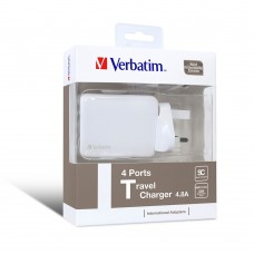 Verbatim 4 Ports Travel Charger