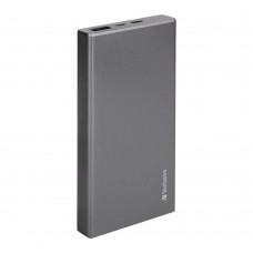 Verbatim Li-polymer QC 3.0 & PD2.0 Power Pack 10,000mAh (Grey)