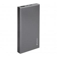 Verbatim Li-polymer QC 3.0 & PD2.0 Power Pack 10,000mAh (Grey)