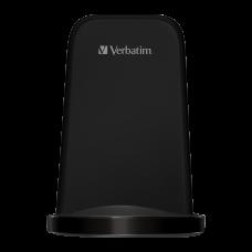 Verbatim 10W Flat Round Wireless Charger - Black