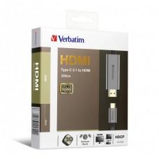 Verbatim Type C 3.1 to HDMI 4K Cable