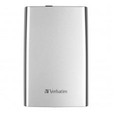 "Verbatim Store n Go USB 3.0 2.5"" 1TG  Ext HDD Silver"