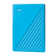 WD My Passport 2TB Portable External Hard Drive, Blue