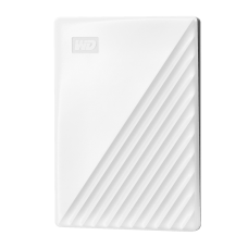 WD My Passport 1TB Portable External Hard Drive, White