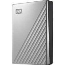 WD  My Passport Ultra for Mac 4TB External USB 3.0 Portable Hard Drive  - Silver