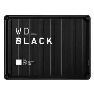 WD_Black 4TB P10 Game Drive, Compatible with PS4, Xbox One, PC, Mac