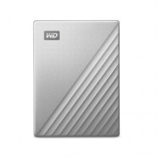 WD My Passport Ultra 2TB Equipped with USB-C™ technology (Silver)